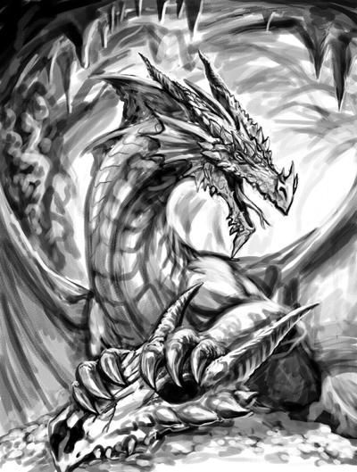 Gifs animal legendaire de mickael page 2 - Dessins dragon ...